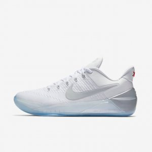 "Кроссовки Nike Kobe AD ""White/Chrome"" Арт. 1296"