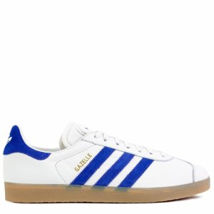 "Кроссовки Adidas Gazelle ""White/Blue"" Арт. 1300"