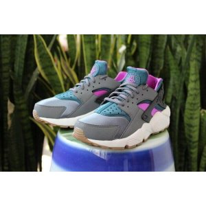 "Кроссовки Nike Air Huarache Ultra ""Black/Blue/Violet"" Арт. 0740 (Уценка)"