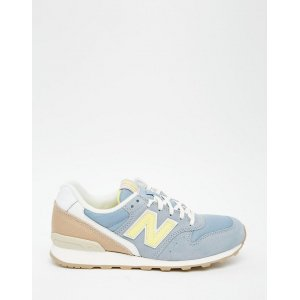 "Кроссовки New Balance 996 Suede ""Baskets Bleu Gris"" Арт. 1377"