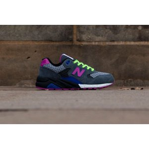 "Кроссовки New Balance Elite Edition 580 ""Grey/Pink"" Арт. 1535"