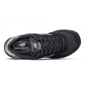 "Кроссовки New Balance 574 ""Black With Steel"" Арт. 1353"