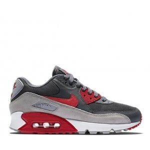 "Кроссовки Nike Air Max 90 Essential ""Wolf Grey/Red"""
