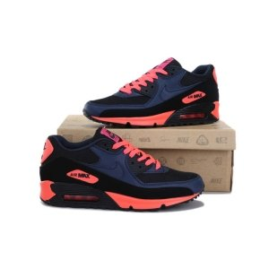 "Кроссовки Nike Air Max 90 ""Black/Blue/Red"""