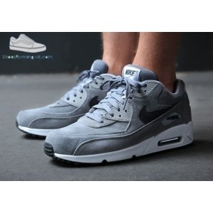 "Кроссовки Nike Air Max 90 Premium ""Grey Suede"""