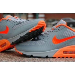 "Кроссовки Nike Air Max 90 Hyperfuse ""Grey/Orange"""