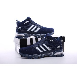 "Кроссовки Adidas Neo Winter ""Blue"" С МЕХОМ Арт. 1591"