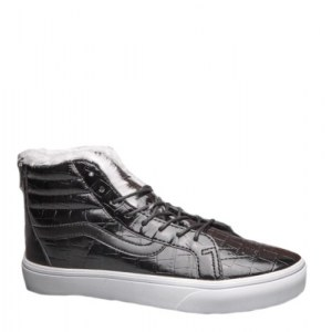 Зимние кеды Vans Velvet Crocodile Leathe