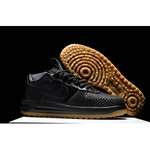 "Кроссовки Nike Air Force Duckboot Low ""Black"""