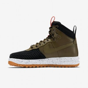"Кроссовки Nike Lunar Force 1 Duckboot ""Army Green/Black"""