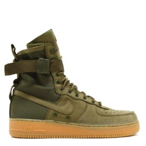 "Кроссовки Nike Special Field Air Force 1 ""Olive Gum"" Арт. 1628"