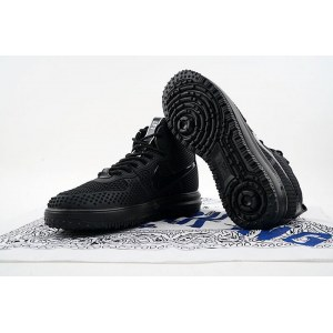 "Кроссовки Nike Lunar Force 1 Duckboot ""Black"""