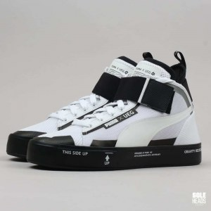 "Кроссовки Puma x UEG Court Play ""White/Black"" Арт. 1636"