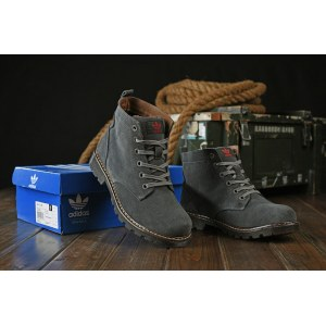 "Ботинки Adidas Ransom Original Boot ""Dark Green"" С МЕХОМ Арт. 1658"
