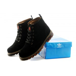"Ботинки Adidas Ransom Original Boot ""Black"" С МЕХОМ Арт. 1659"