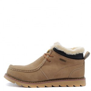"Ботинки Caterpillar Winter Boots Dark ""Cream"" Арт. 1666"