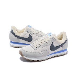 "Кроссовки Nike Internationalist ""White"" С МЕХОМ Арт. 1684"
