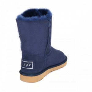 "UGG Bailey Button Bling ""Blue"" II Арт. 1744"