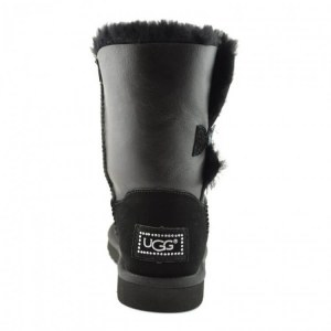 "UGG Bailey Button Bling ""Leather Black"" II Арт. 1676"