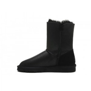 "UGG Bailey Button Leather ""Black"" II Арт. 1677"