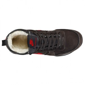 "Кроссовки Nike Internationalist ""Black/Red"" С МЕХОМ Арт. 1767"