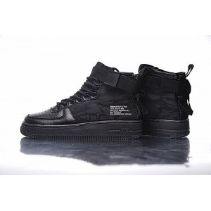 "Кроссовки Nike SF Air Force 1 Utility Mid ""All Black"" Арт. 1986"
