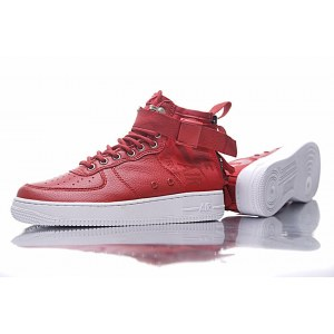 "Кроссовки Nike SF Air Force 1 Utility Mid ""Red/White"" Арт. 1987"