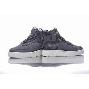 "Кроссовки Nike SF Air Force 1 Utility Mid ""Grey/White"" Арт. 1988"
