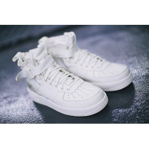 "Кроссовки Nike SF Air Force 1 Utility Mid ""All White"" Арт. 1991"