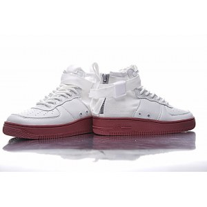 "Кроссовки Nike SF Air Force 1 Utility Mid ""White/Gum"" Арт. 1992"