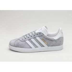 "Кроссовки Аdidas Gazelle ""Mid Grey/Ftwr White/Gold Metallic"" Арт. 2021"