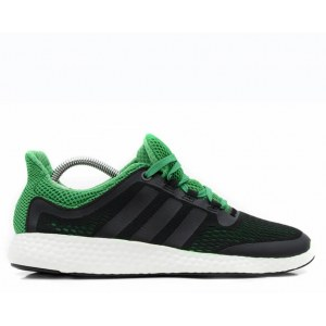 "Кроссовки Adidas Pure Boost ""Green/Black"" Арт. 1792"