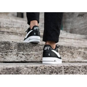 "Кроссовки Nike Air Force 1 Low NBA ""Black/White"" Арт. 2118"