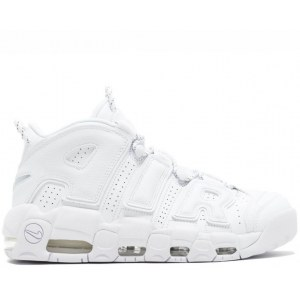 "Кроссовки Nike Air More Uptempo ""Triple White"" Арт. 2119"