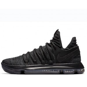 "Кроссовки Nike KD 10 ""All Black Samurai"" Арт. 2136"