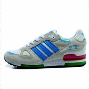"Кроссовки Adidas ZX750 ""Grey/White/Blue"""
