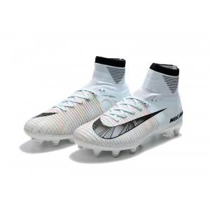 "Футбольные бутсы Nike  Mercurial Superfly V Ronalro AG ""White"" Арт. 2188"