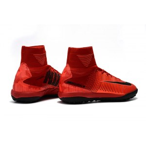 "Сороконожки Nike Mercurial Superfly V TF ""Fire Red"" Арт. 2193"