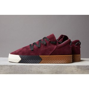 "Кроссовки Alexander Wang x Adidas Originals Skate ""Bordo"" Арт. 2219"