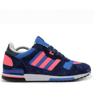 "Кроссовки Adidas ZX 700 ""Navy/Light Blue/Rose"" Арт. 1812"