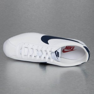 "Кроссовки Nike Classic Cortez Leather ""White/Blue/Red"" Арт. 2239"