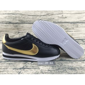 "Кроссовки Nike Cortez Glitter Pack ""Black/Gold"" Арт. 2329"