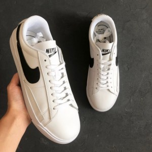"Кроссовки Nike Blazer Low Leather ""White/Black"" Арт. 2282"