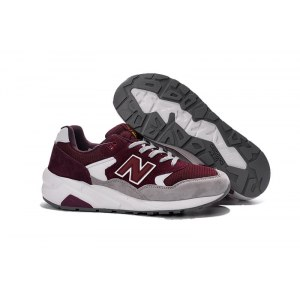 "Кроссовки New Balance 580 Heritage Collection ""Cream/Bordo"" Арт. 2446"