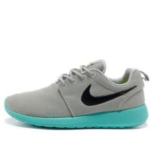 "Кроссовки Nike Roshe Run ""Light Grey/Teal"""