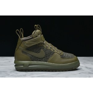 "Кроссовки Nike Lunar Force 1 Flyknit Workboot Medium ""Olive"" Арт. 2616"