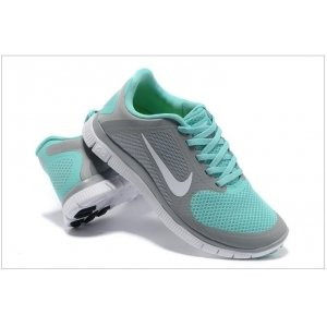 "Кроссовки Nike Free Run 4.0 V3 ""Grey/Green"" Арт. 0220"