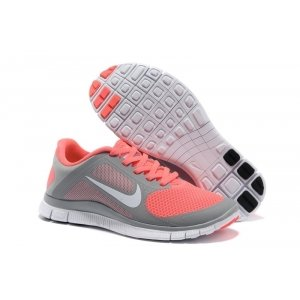 "Кроссовки Nike Free Run 4.0 V3 ""Grey/Rose"""