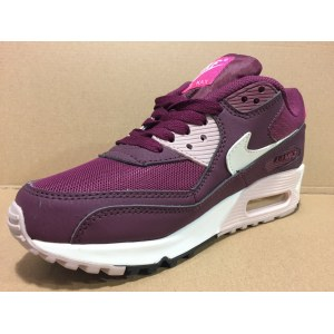 "Кроссовки Nike Air Max 90 Essential ""Burgundy/White/Pink"" Арт. 1225 (Уценка)"