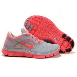 "Кроссовки Nike Free Run Plus 3 ""Grey/Rose"""